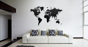 готовые карты wall decoration 130 х 78 см